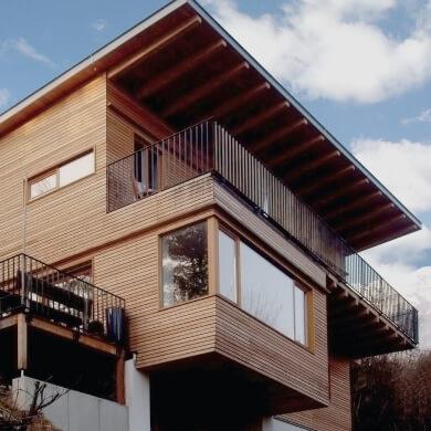 Zimmerei für Holzwohnbau