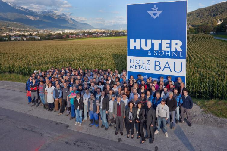 Das Team von HUTER & SÖHNE