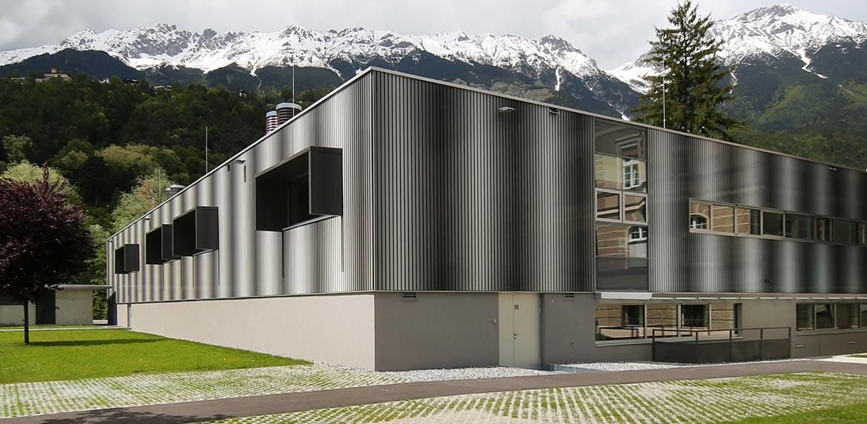 Baumeister für Sanatorium Innsbruck von HUTER & SÖHNE