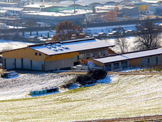 Zimmerei für Landwirtschaftsgebäude