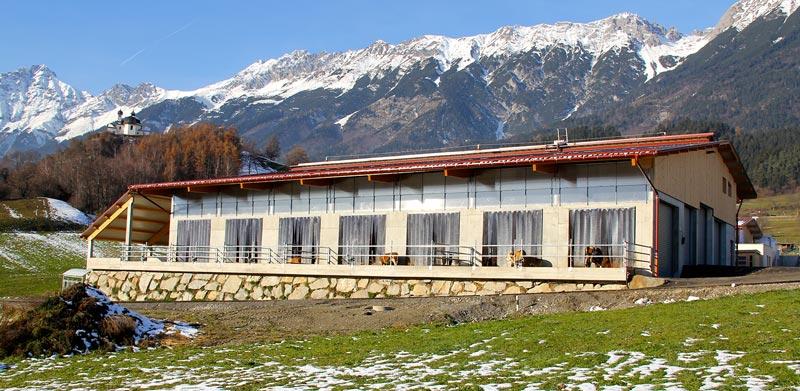 Landwirtschaftsgebäude von HUTER & SÖHNE