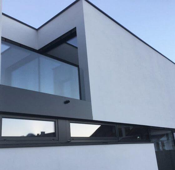 Metallbau für Einfamilienhaus
