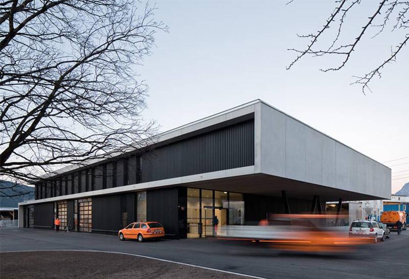 Zentralbauhof Innsbruck von HTUER & SÖHNE