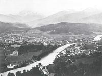 Blick auf Innsbruck um 1875
